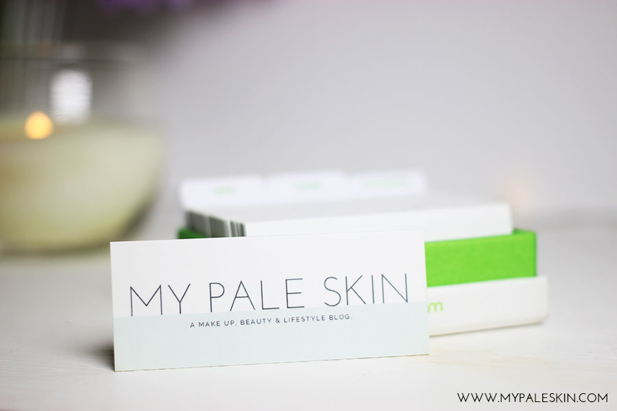 My Pale Skin: Blogger Basics #1 - Blogger Business Cards