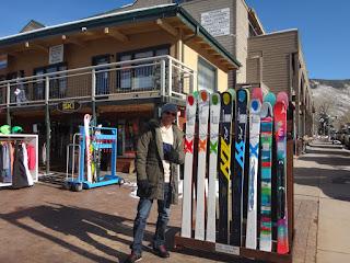 snowboarding em aspen