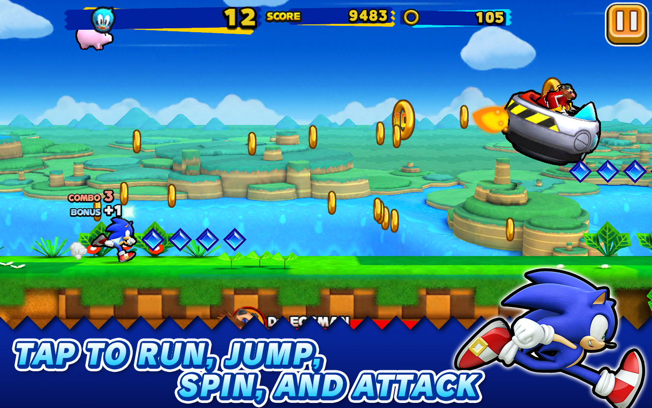Sonic Runners v1.0.0 Apk Data for Android