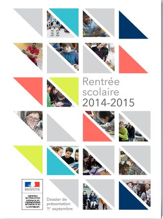 Feuilleter le dossier scolaire 2014 - 2015