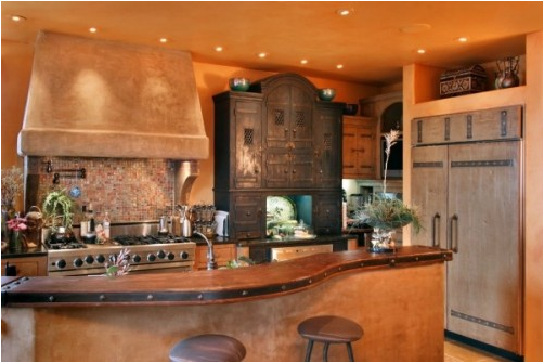 Key interiors by shinay southwestern kitchen ideas for Native kitchen designs and decors photos