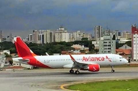 precisou fazer um pouso forçado no Aeroporto Internacional Tancredo Neves, em Confins, na região metropolitana de Belo Horizonte na manhã desta quinta-feira (26)