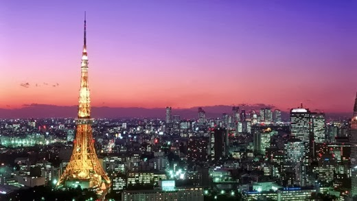 Attractions in Japan must go on. (Part 1) Tokyo Tower