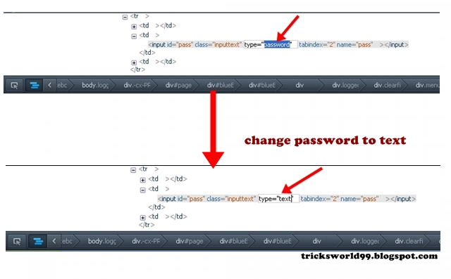 How To Reveal Hidden Passwords (Asterisks/Bullets) In Web Browsers