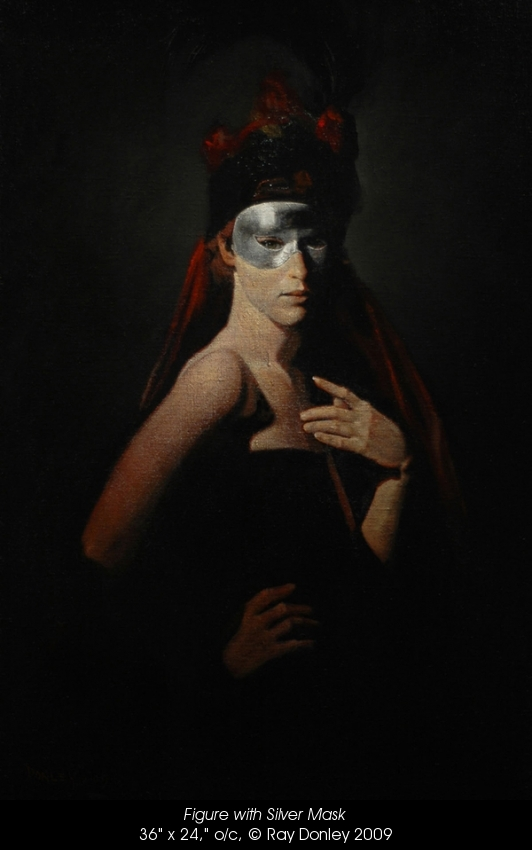 ray donley silver mask