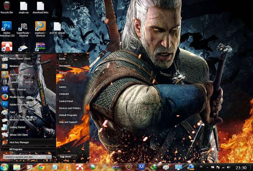 The Witcher [ Theme Win 7 ] 1