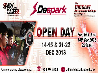 Despark Open Day Trial Class