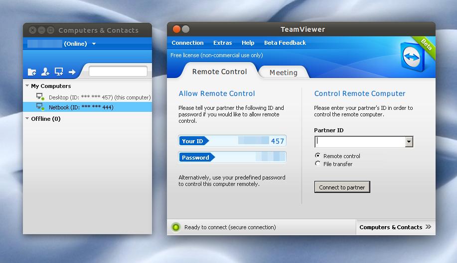 ������ �� ����� ��� �� ��� TeamViewer7.0.12799 Final Portable