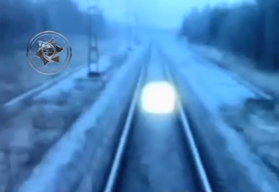 Mysterious Glowing Entities Follow Russian Trains, UFO Sightings