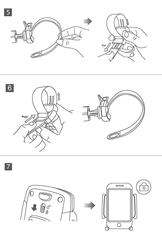 holder จักรยาน สำหรับ iPhone 6 plus