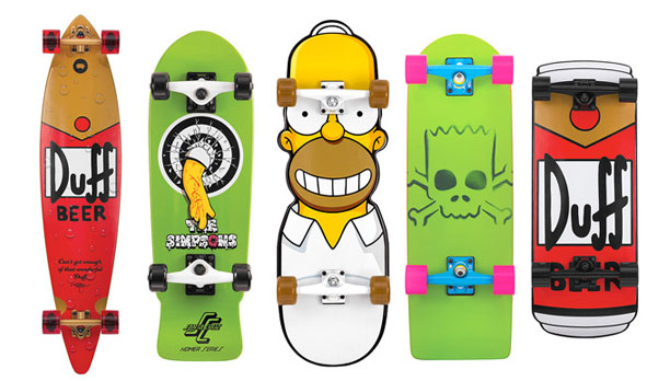 Very Cool! Simpsons Skateboards