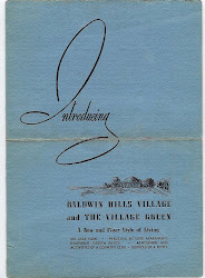 Baldwin Hills Village Brochure, 1941