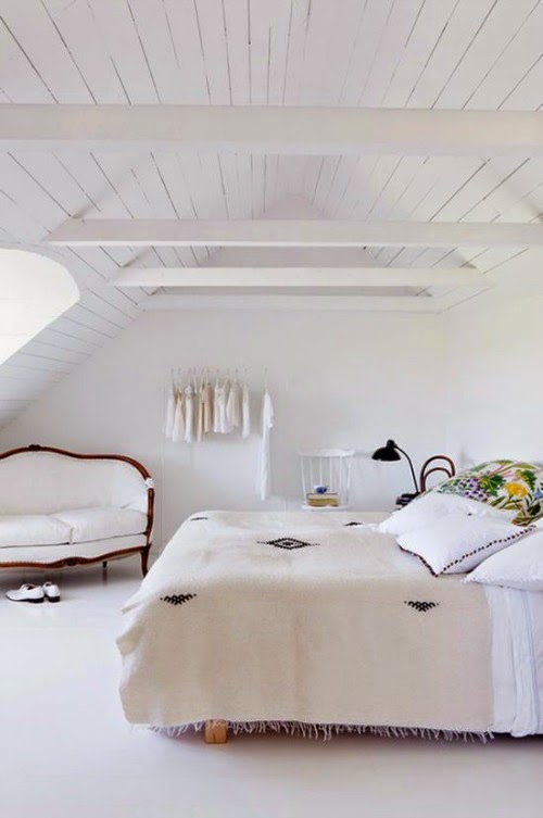 dream home - white bedroom