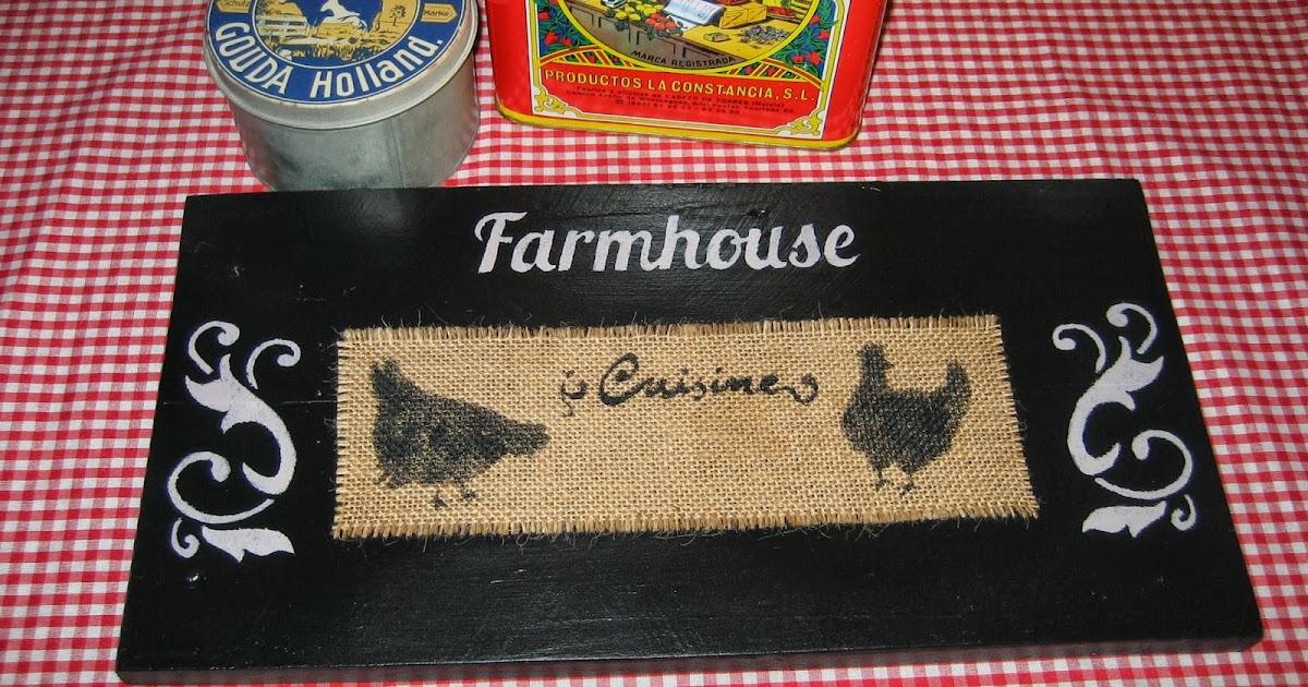 En el campo cartel country para la cocina - Carteles de cocina ...