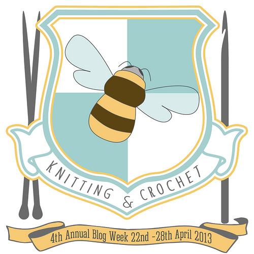 kntting blog week abeille team bees