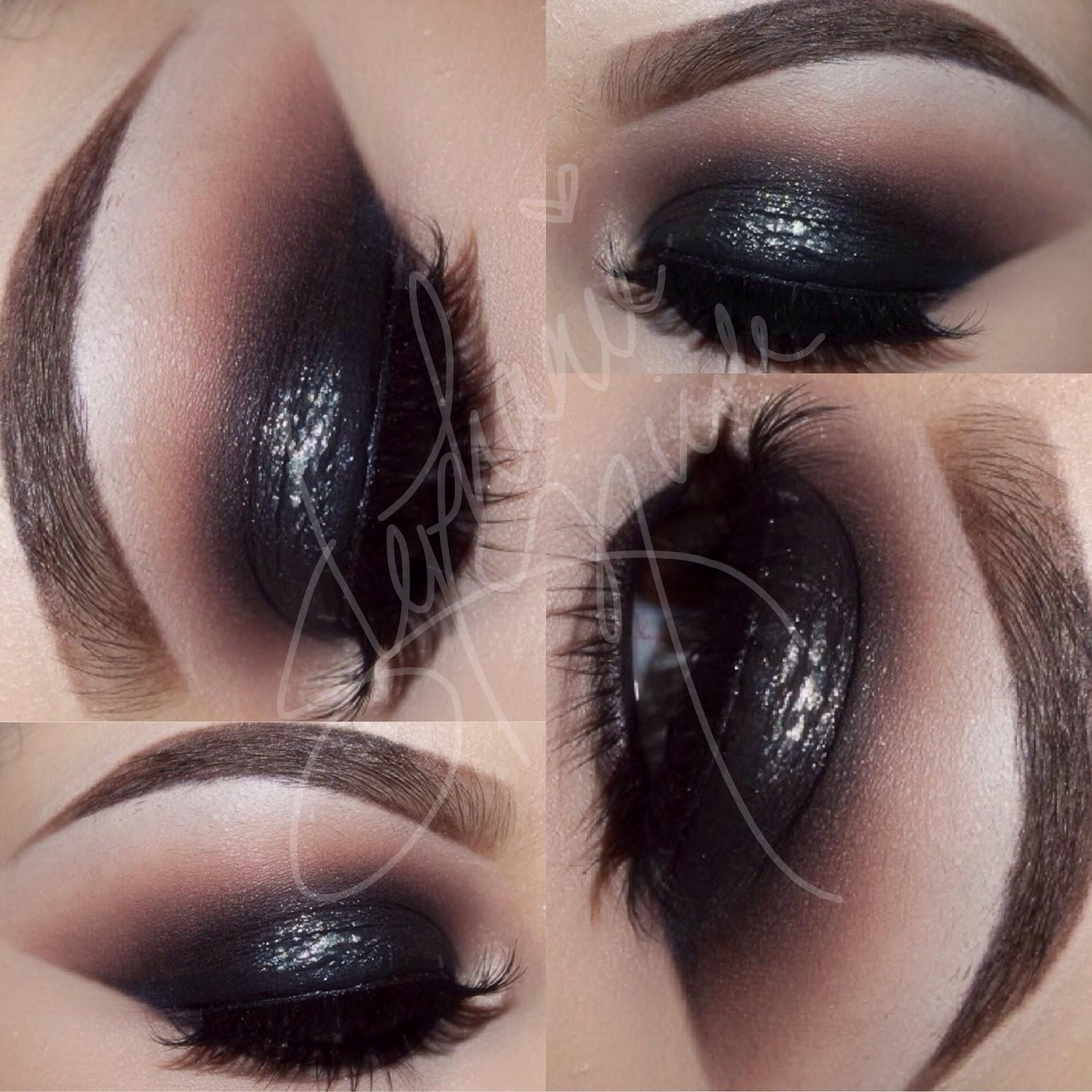 Makeup By Stephanie Nicole Black Smoky Eye
