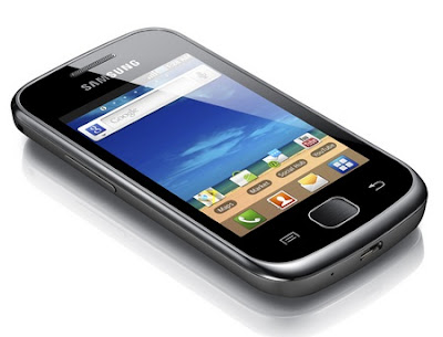 samsung galaxy gio features silver
