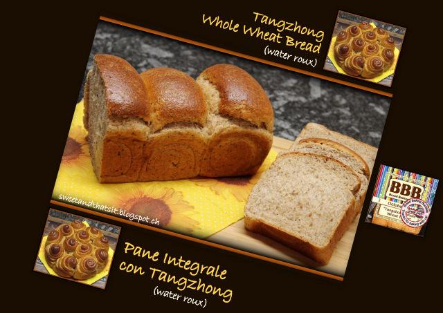 Whole Wheat Tangzhong Bread