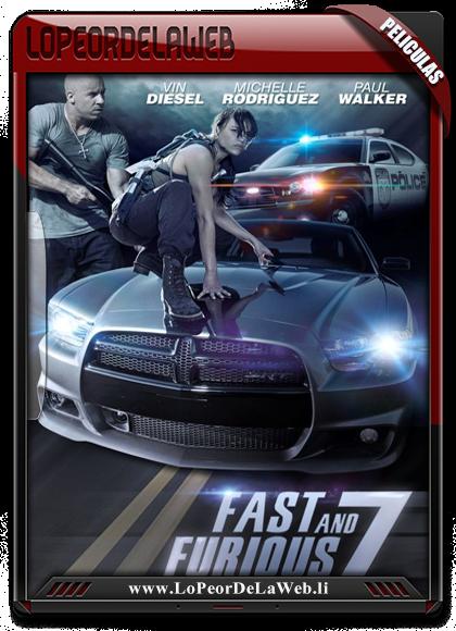 Fast & Furious 7 WEB-DL 720p Subtitulos Latino