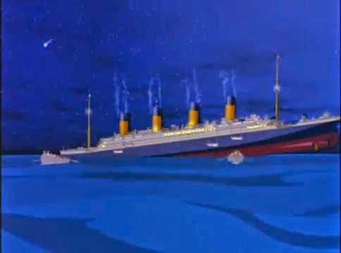 Chiste varios, hundimiento, titanic, capitán, histérico, pico, ventanilla, bote, salvavidas.