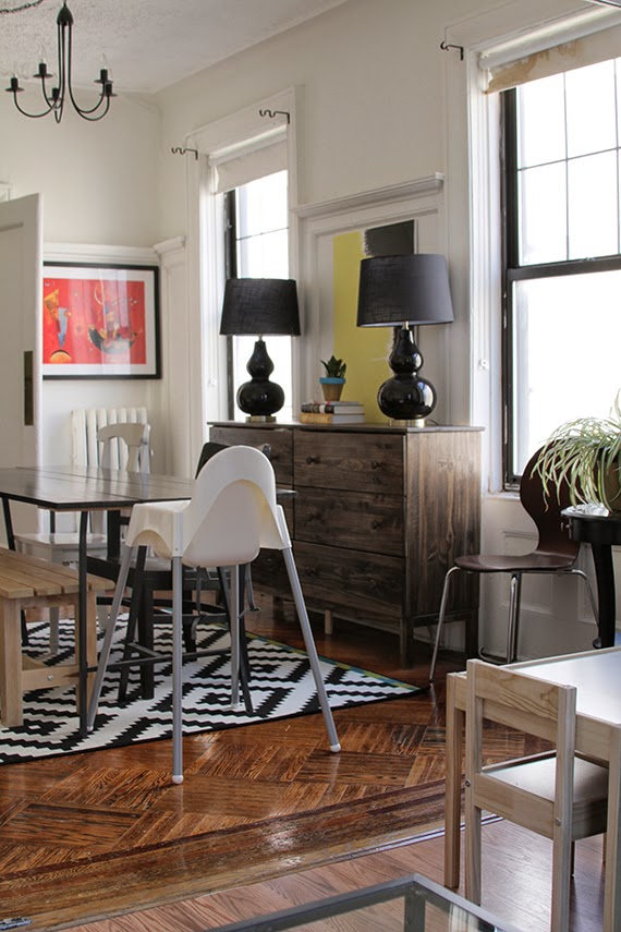 Harlem Home Redesign Update Dining Room