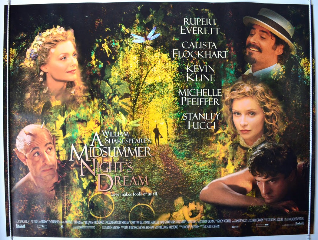 midsummer nights dream play vs movie essay