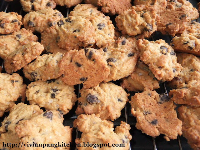 ... cookies like last year… Well this chocolate chip cookies