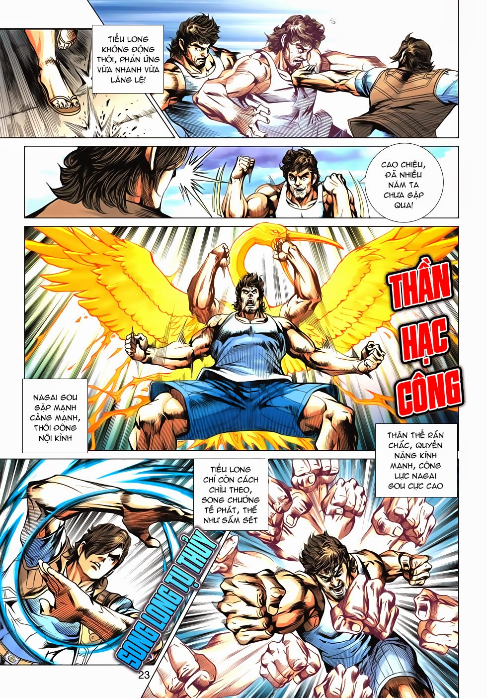 Tân Tác Long Hổ Môn chap 626 - Trang 23