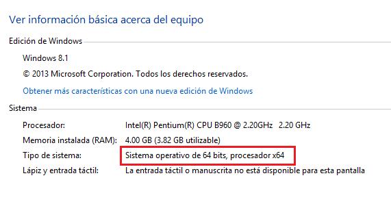 Información básica acerca de Windows 8