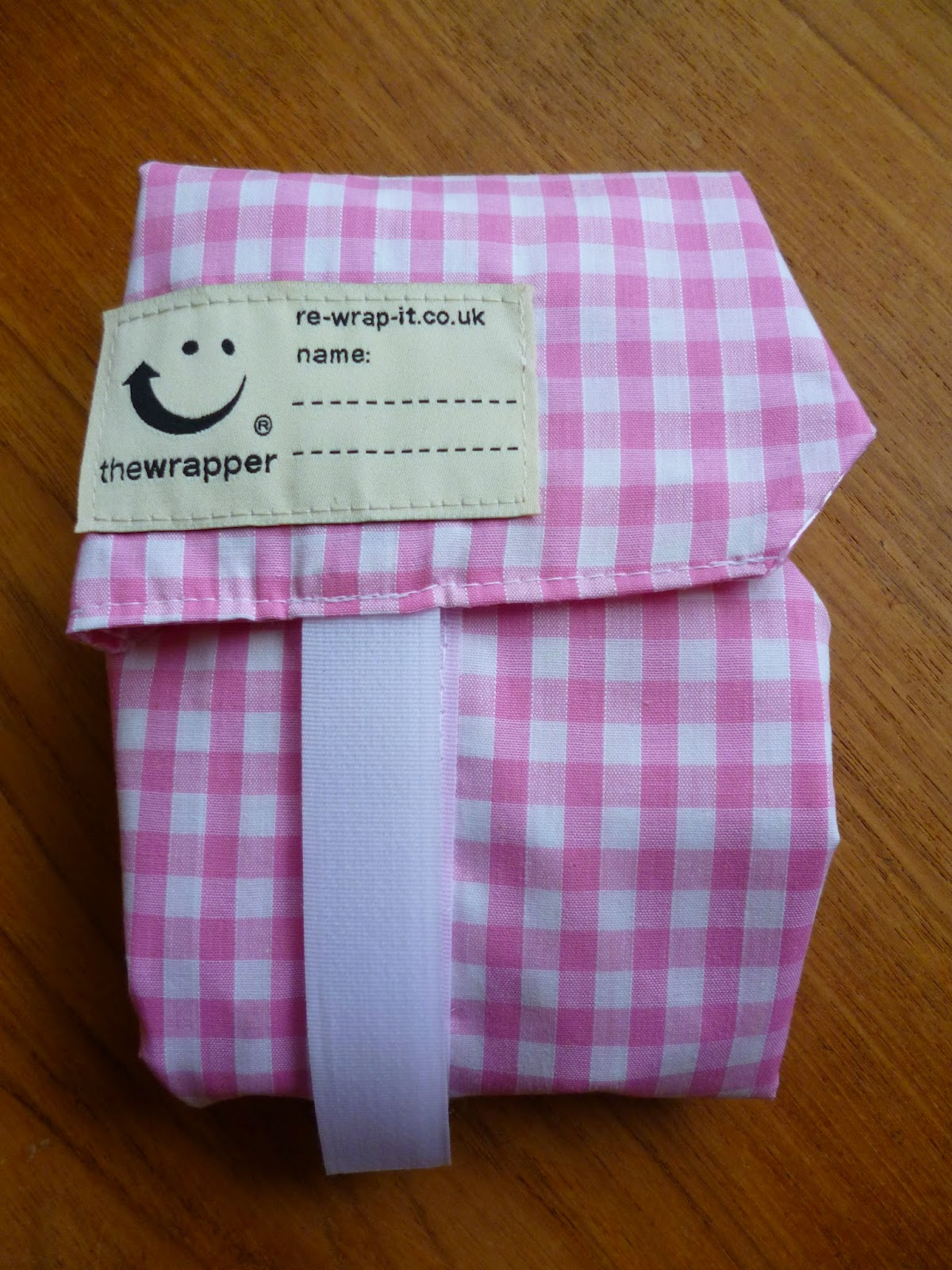 The Wrapper a reusable sandwich wrapper