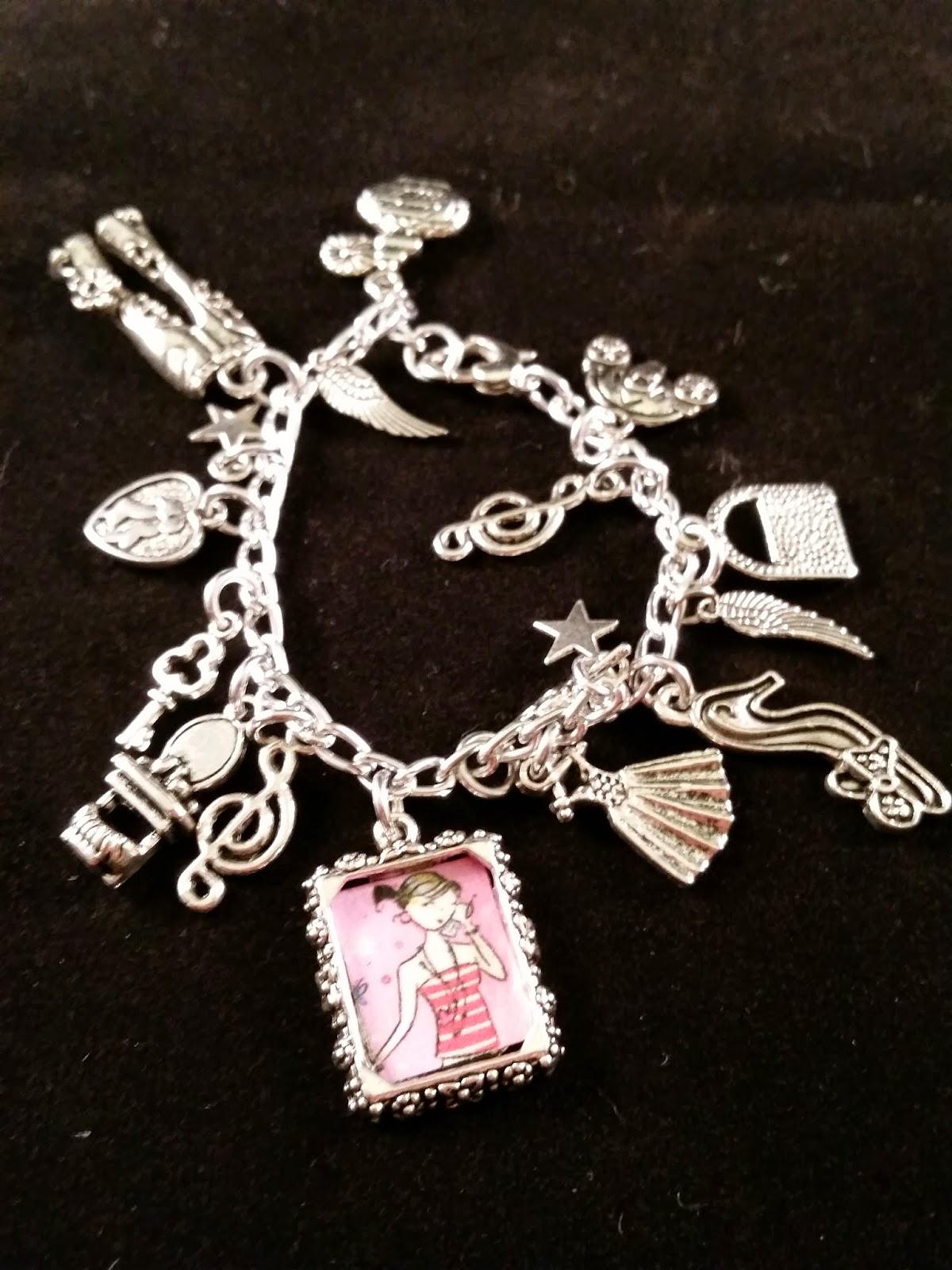 cinderella charm bracelet from framily jewelry giveaway
