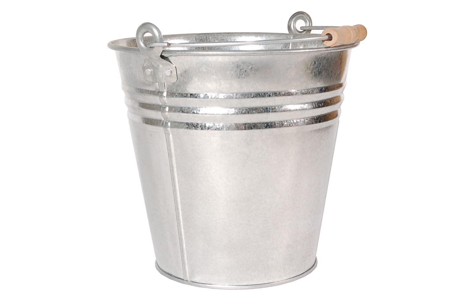 13 Litre Galvanized Bucket school teen cunt,