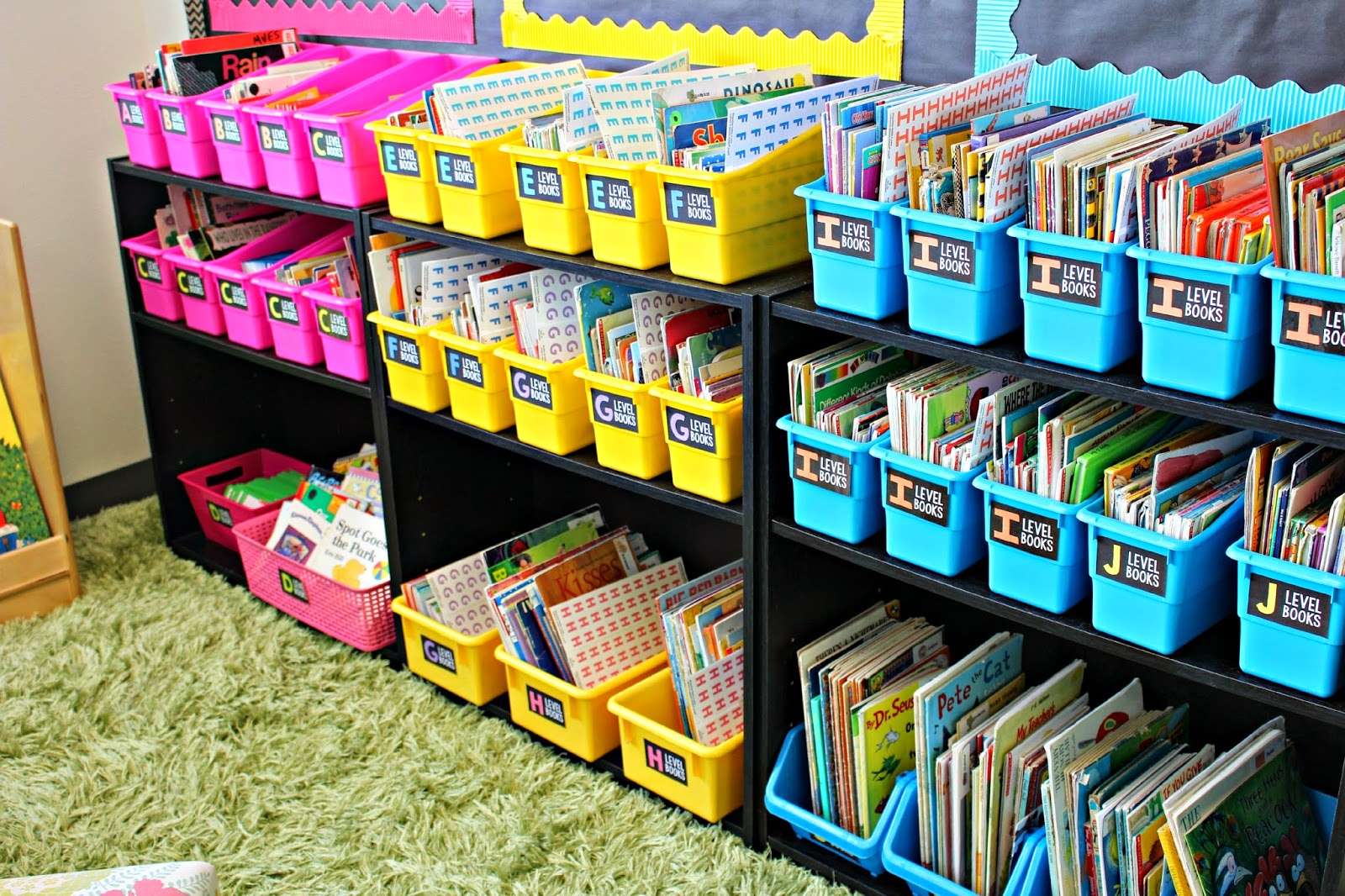 2nd classroom organization on pinterest for Cheap book storage