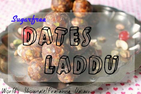 Sugar Free Dates Laddu