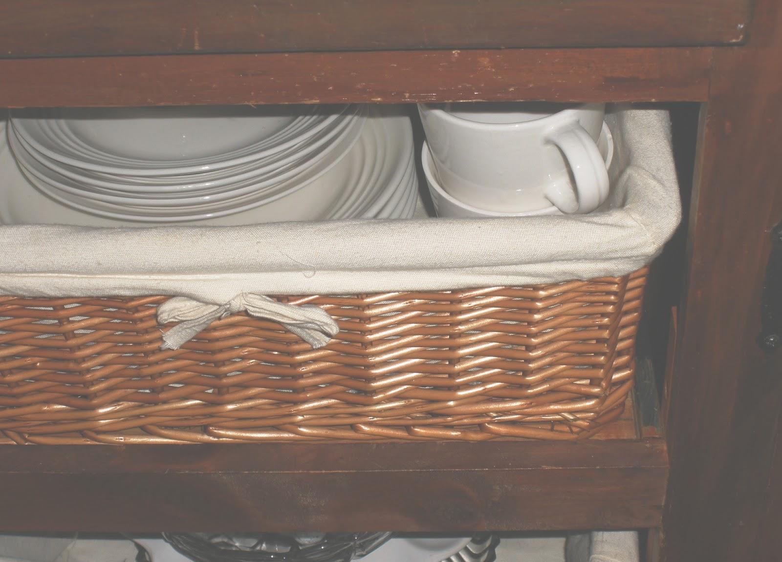 Superb img of Drawer Basket System Storage Organization Walmart Kitchen Basket  with #8A5B41 color and 1600x1151 pixels