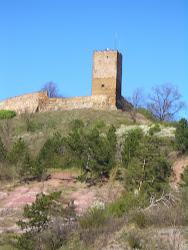 Auch die Burg Gleichen gehört zum Stadtgebiet von Erfurt