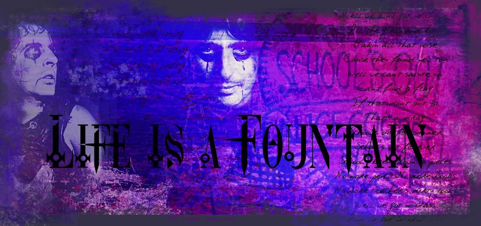 LIFE IS A FOUNTAIN