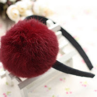 Fur hairband -- HA710 price:RM20 per pc