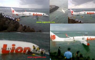 Kecelakaan LION AIR JT904 bali 2013