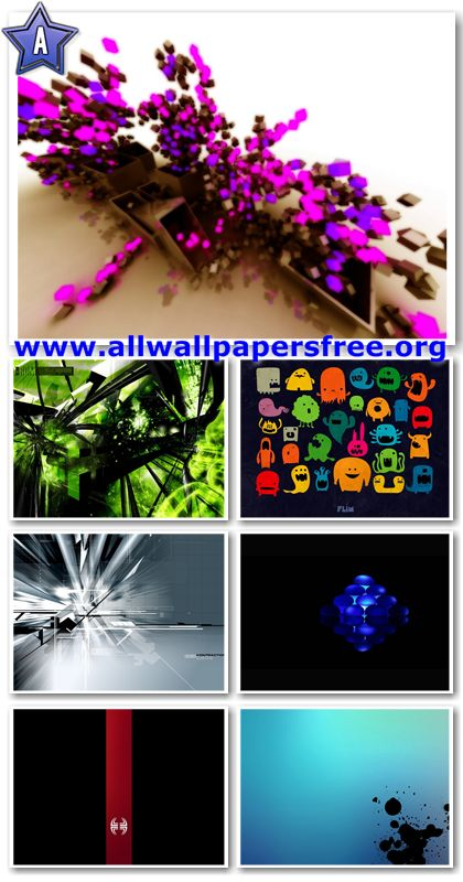 40 Abstract And Colorful Wallpapers 1280 X 1024 [Set 10]