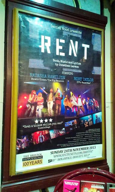 Rent Concert Poster