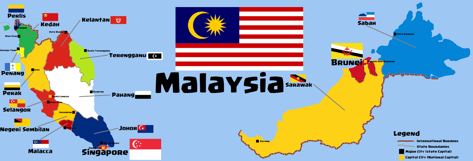world map singapore and malaysia relationship