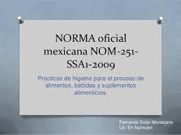 SSA NORMA 251