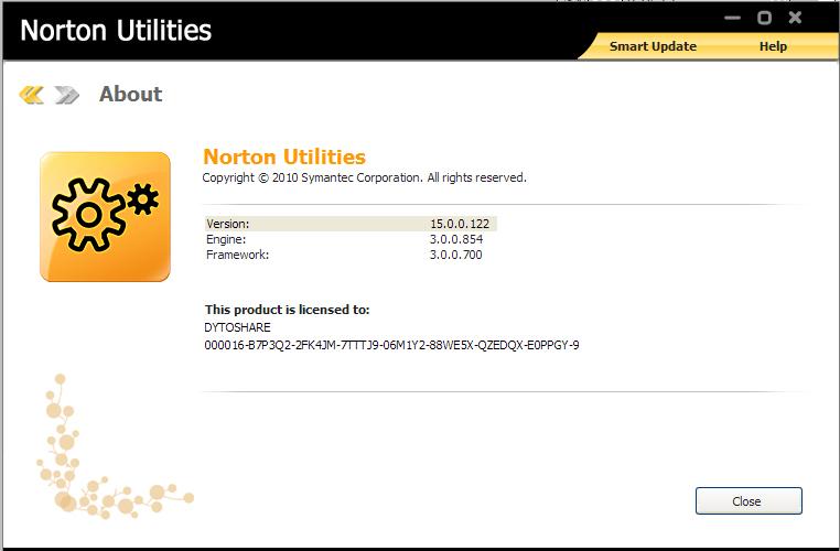 norton utilities 15.0.0.124 serial key crack