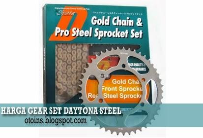 Harga Gear Motor Daytona Racing Steel Terbaru 2015