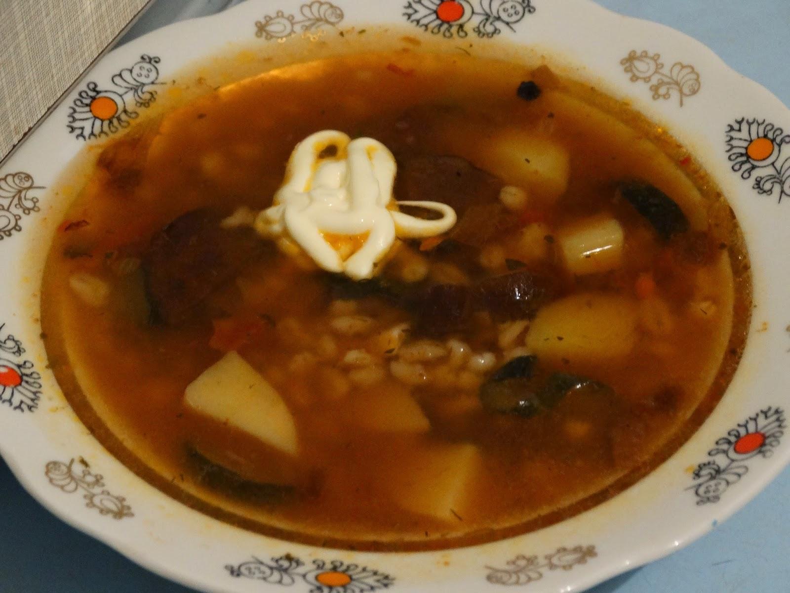 Перловый суп рецепт