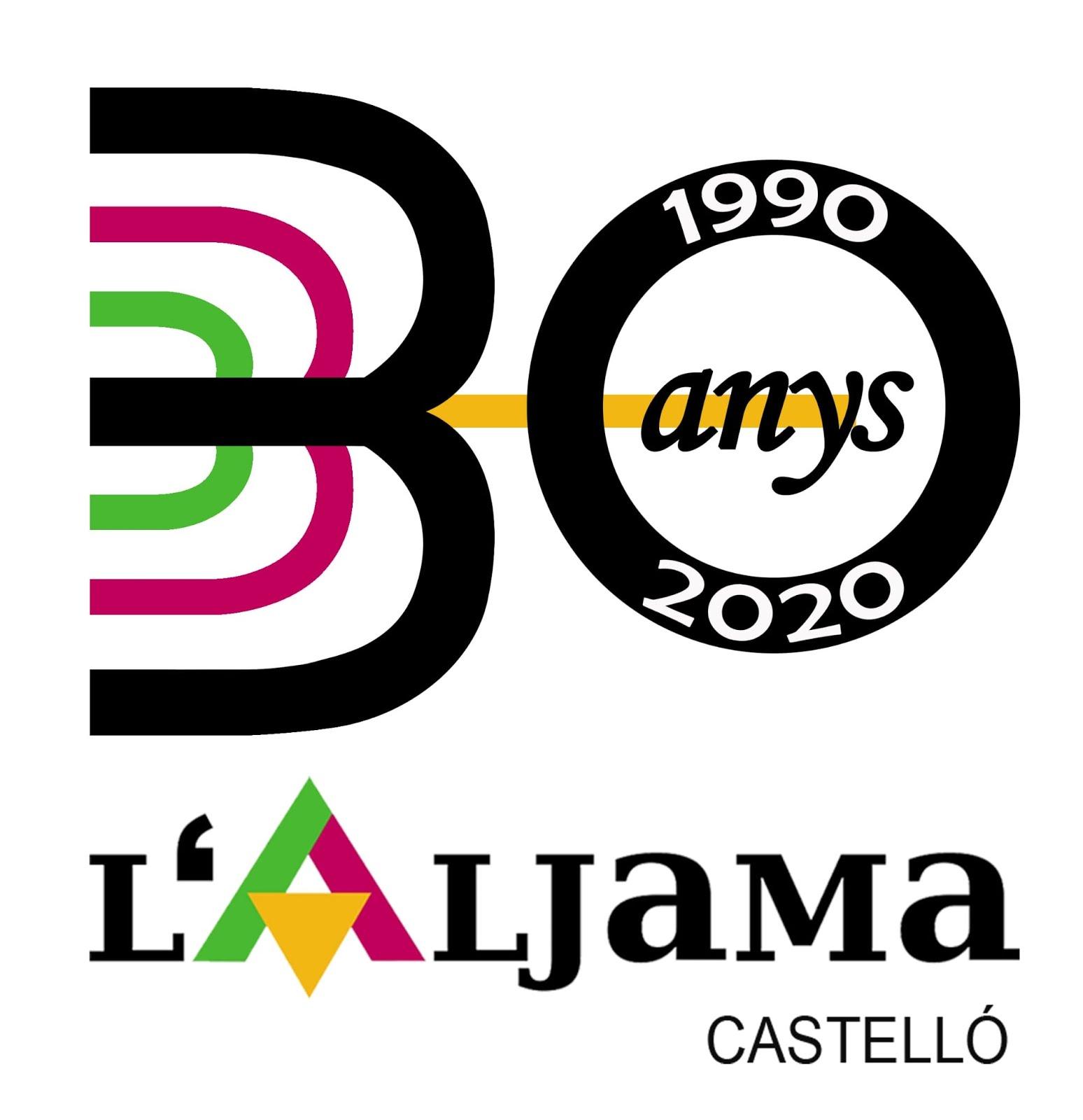 Logo del 30 aniversario de l'Aljama