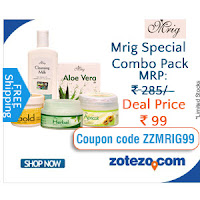 Get Mrig Special Combo Pack at  Rs. 99 Via  Zotezo :buytoearn