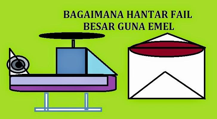 Tips dan panduan hantar fail besar guna emel