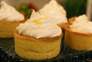Tartelettes de limão siciliano